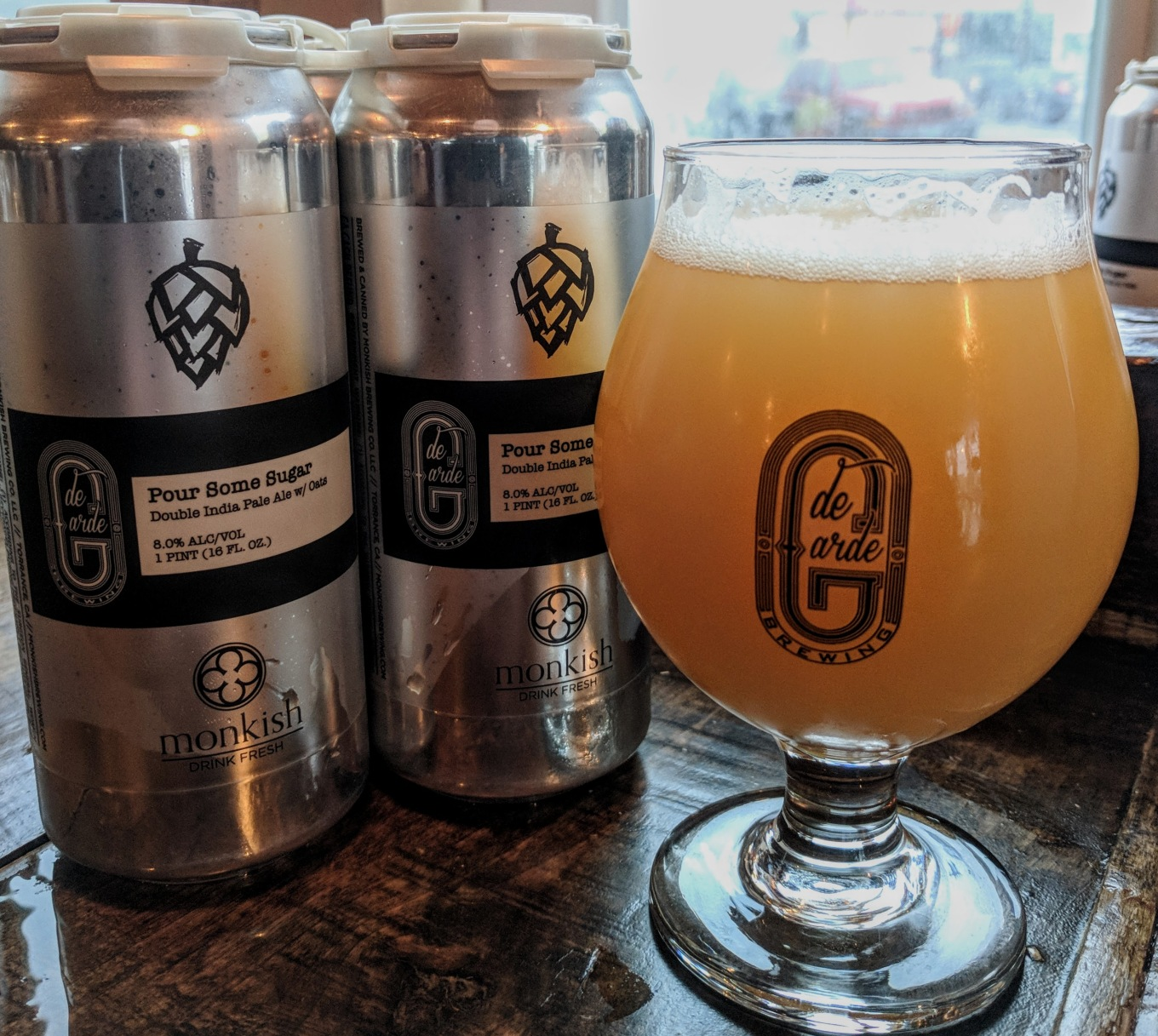 de Garde Monkish Pour Some Sugar DIPA