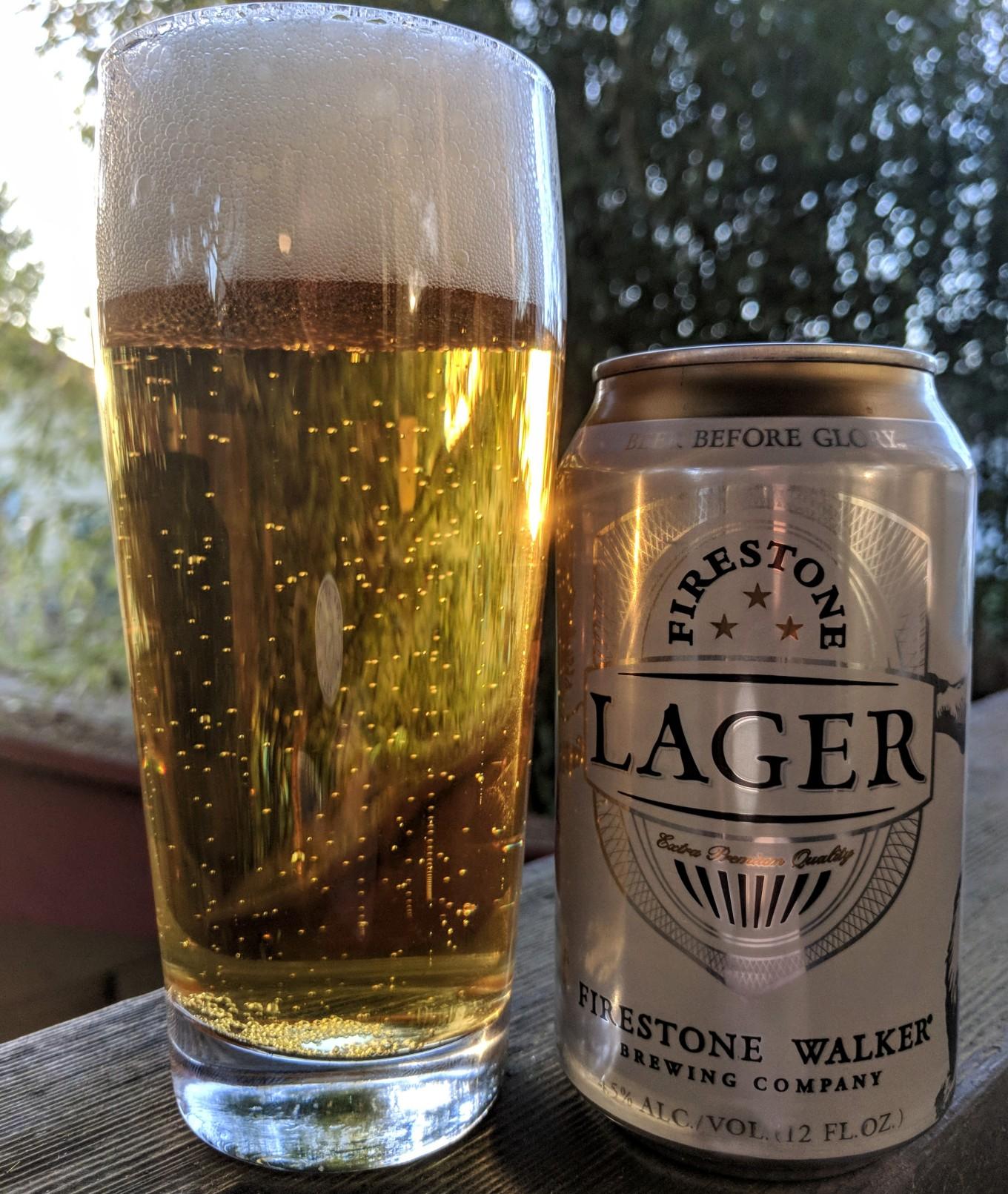 Firestone Walker Brewing Lager