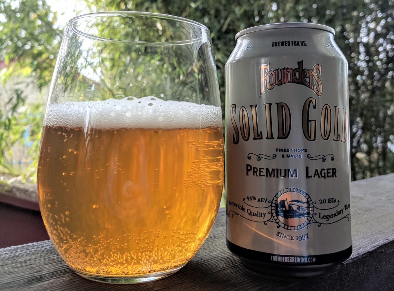 Founders Brewing Solid Gold Premium Lager