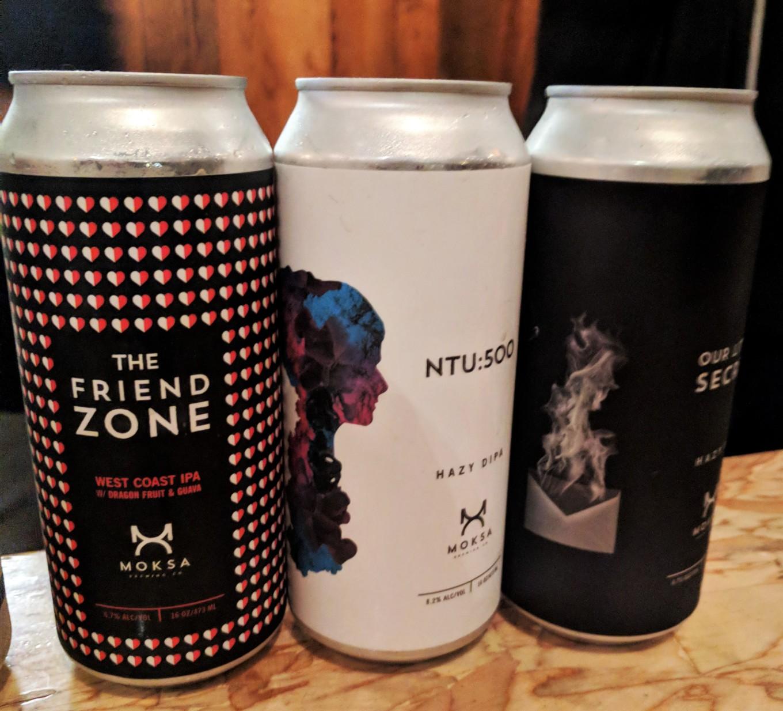 Moksa Brewing Cans Friend Zone