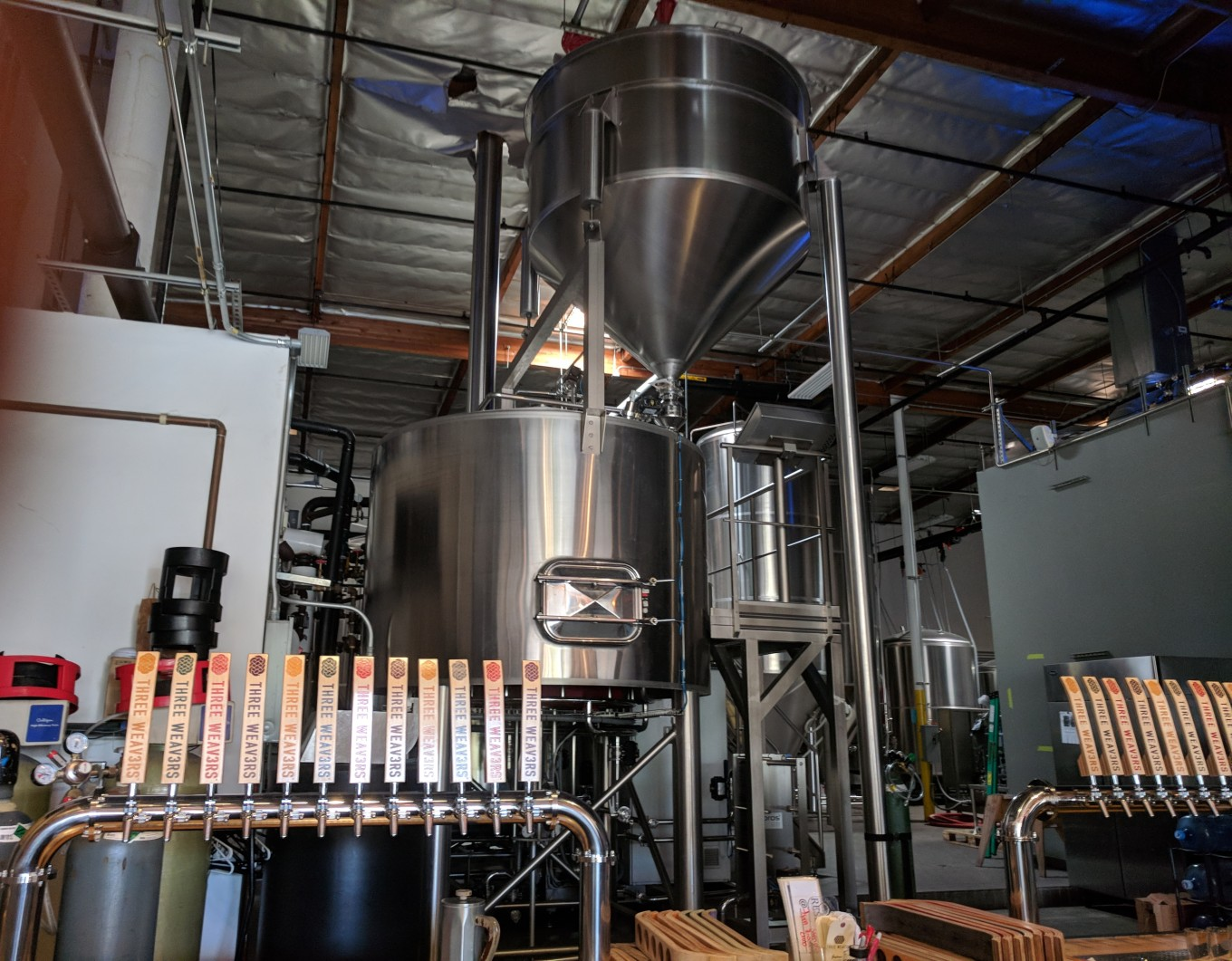 Three Weavers Brewing Brewhouse taproom
