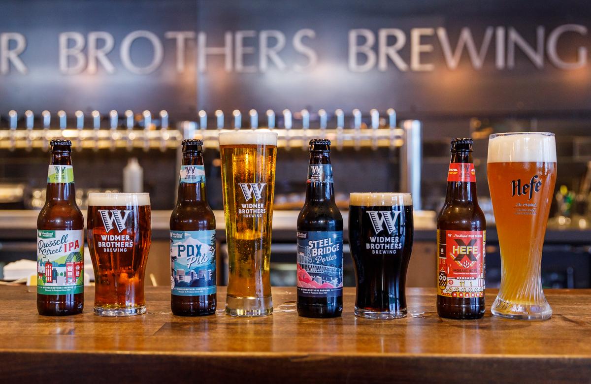 Widmer Portland Pub Series Pours