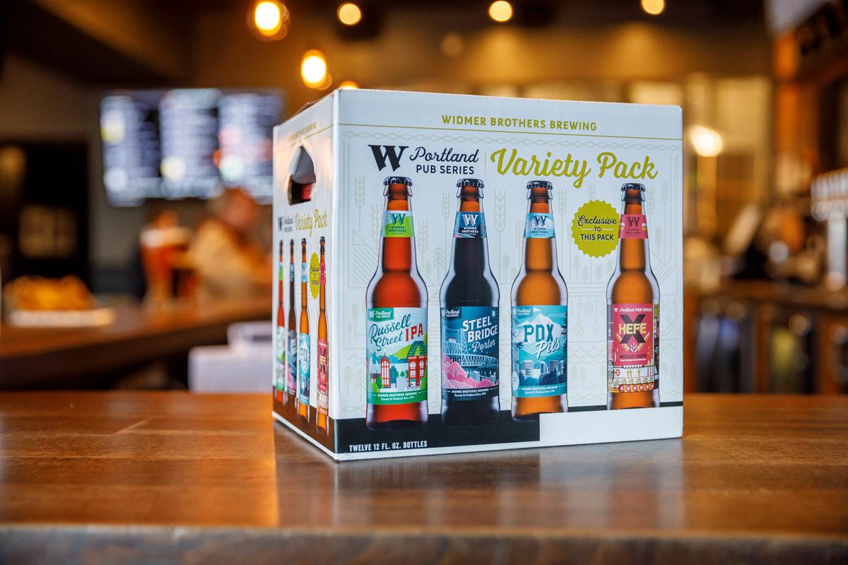 Widmer Portland Pub Series Variety Pack Bottles