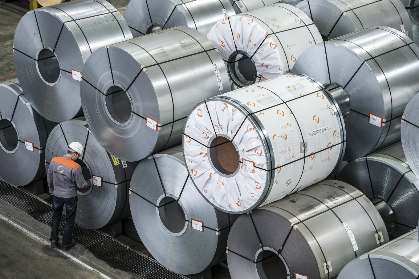 Aluminum Spools - courtesy of Wall Street Journal