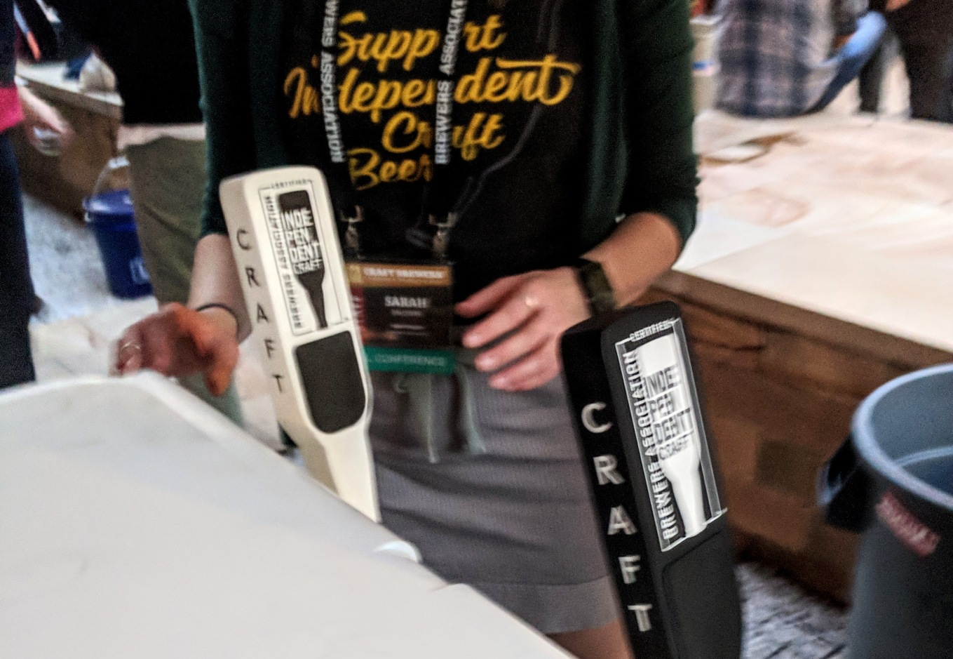 Craft Brewers Conference BA Independent Craft Tap Handles CBC 2018 Nashville