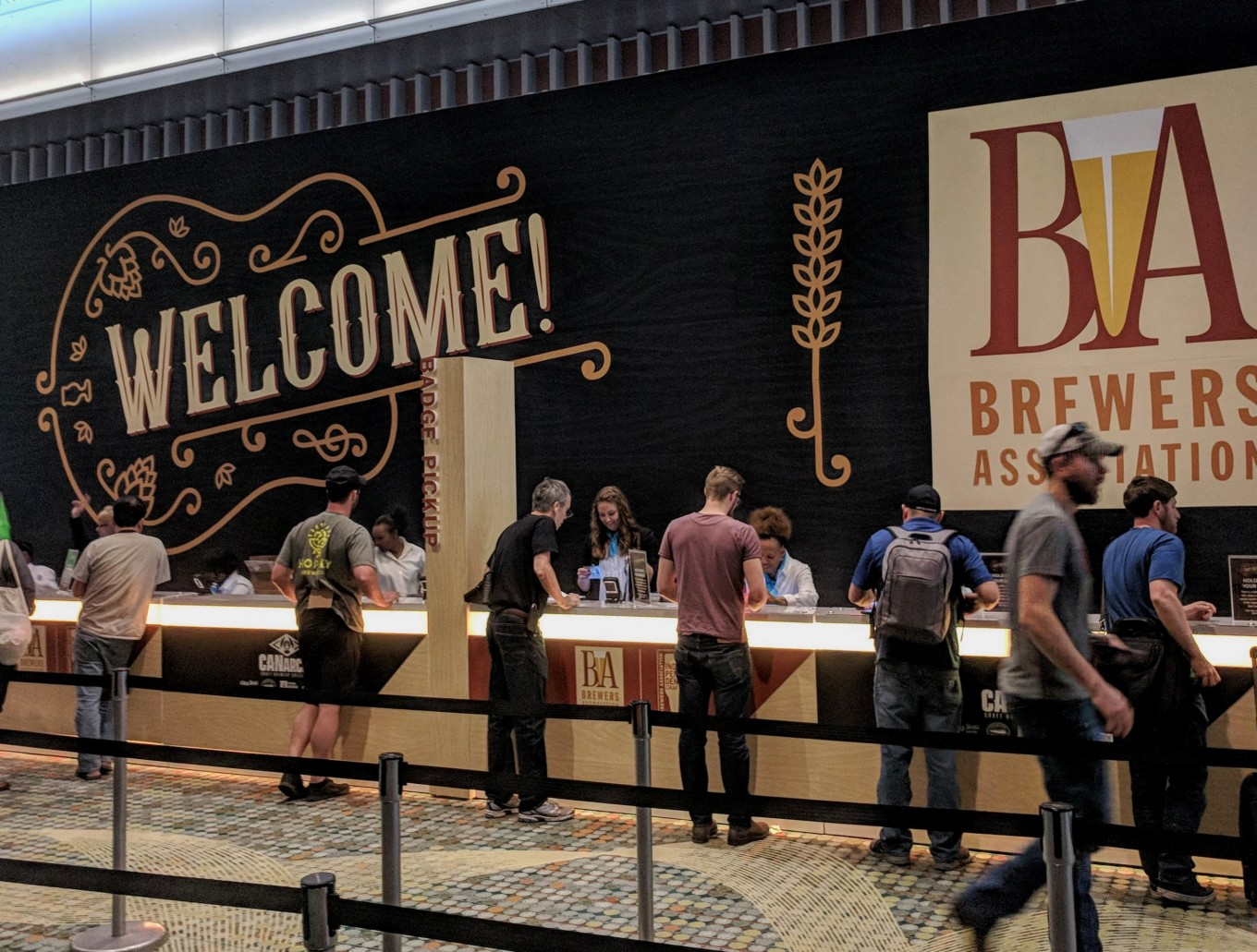 Craft Brewers Conference Check-In CBC 2018 Nashville Tennessee