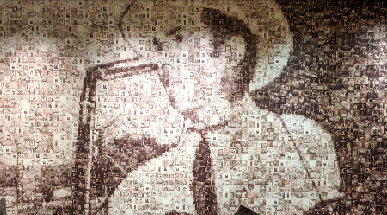 Hank Williams Mosaic Loews Vanderbuilt Nashville TN