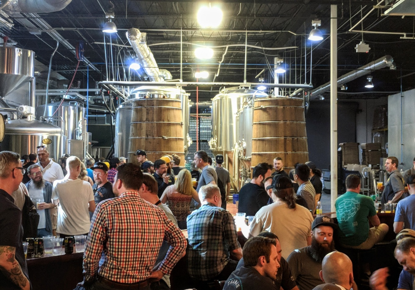 Bearded Iris Brewhouse and Foeders CBC 2018 Nashville