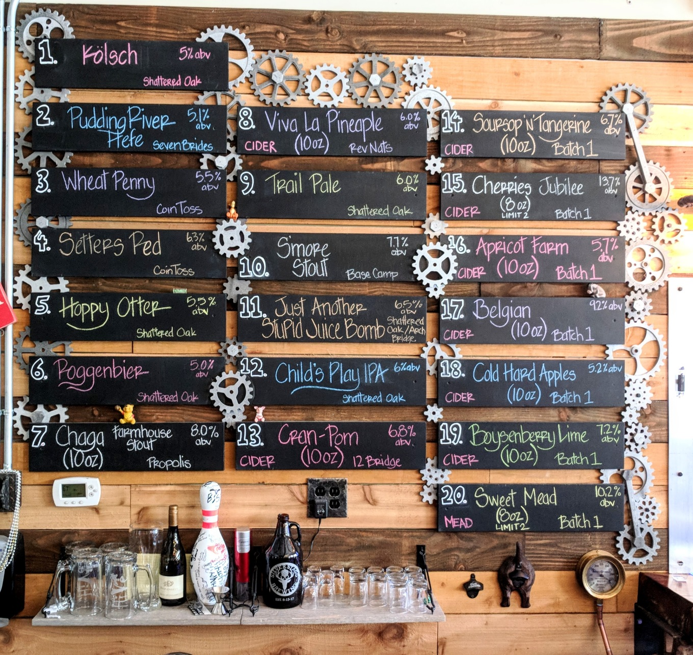 The HiVe Taphouse Tap List 052518