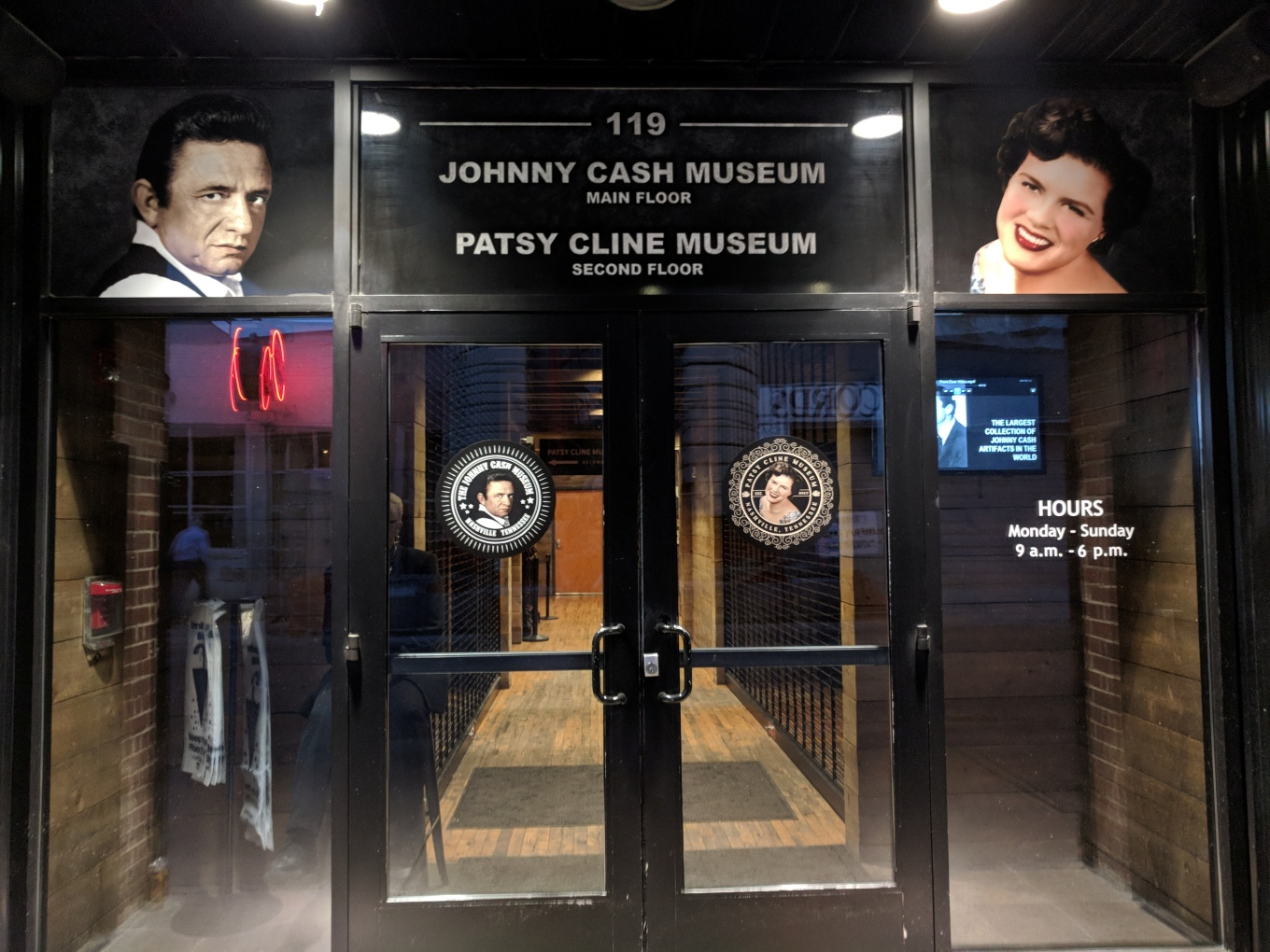 Johnny Cash Patsy Cline Museum CBC 2018 Nashville