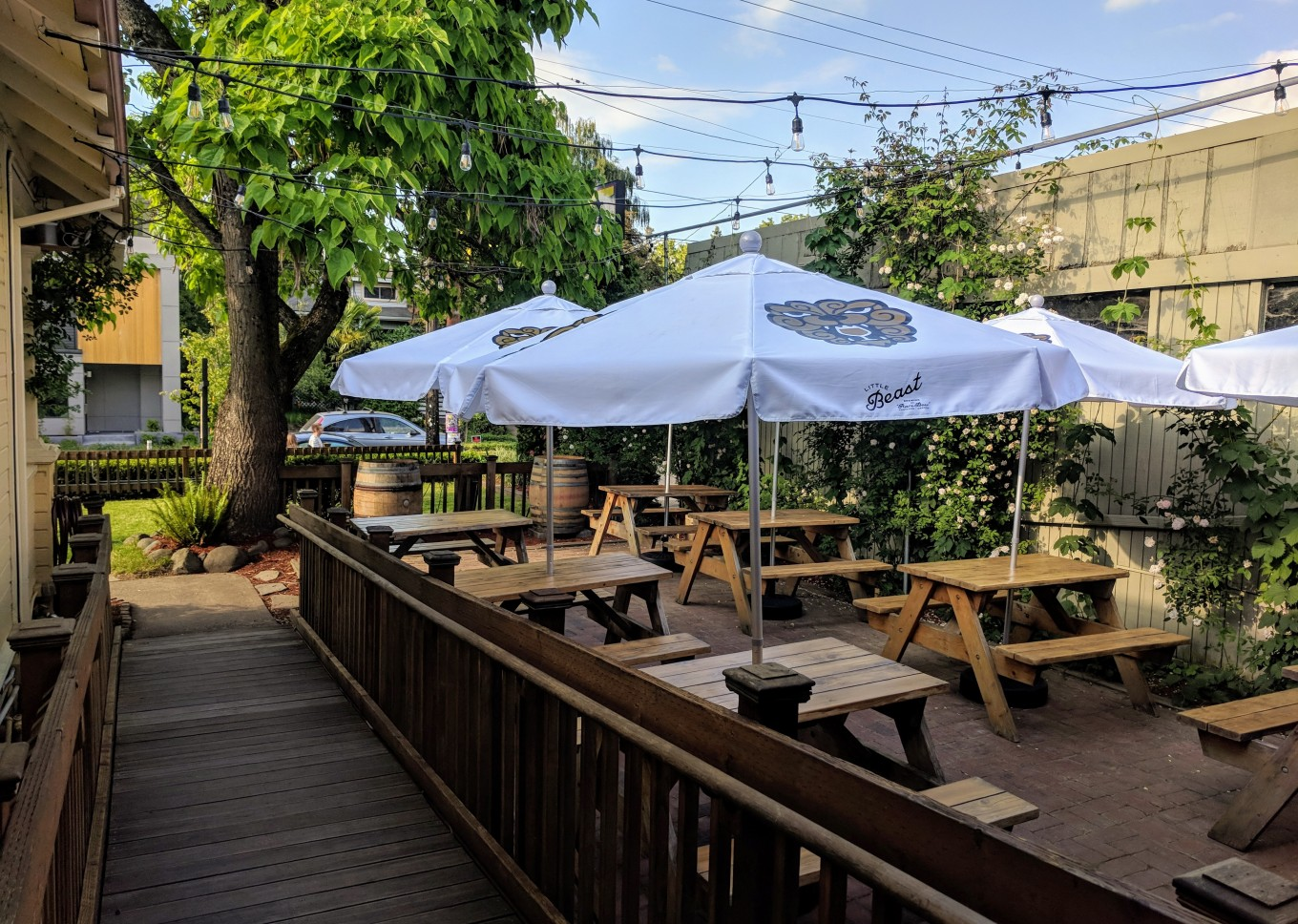 Little Beast Beer Garden Umbrellas