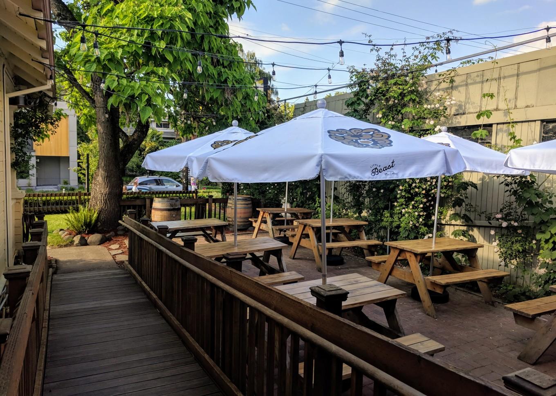 Little Beast Beer Garden Umbrellas