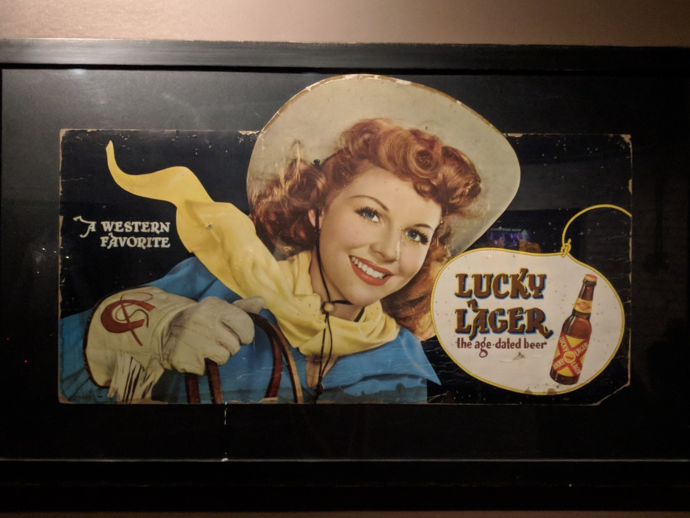 Lucky Lager Advertisement Nudies Nashville CBC 2018