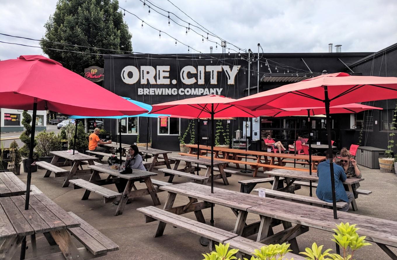 Oregon City Brewing Patio
