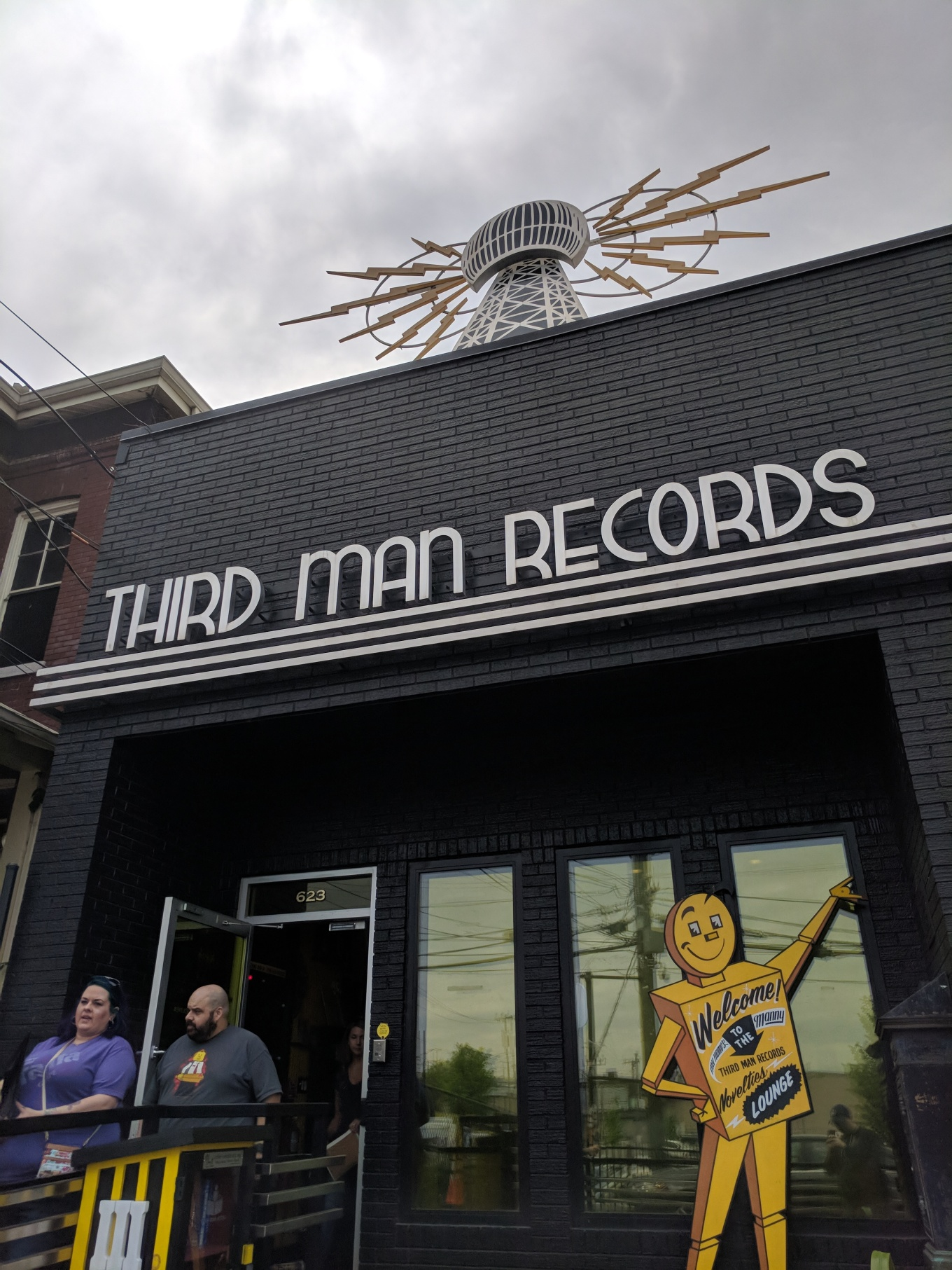 Third Man Records Exterior Nashville CBC