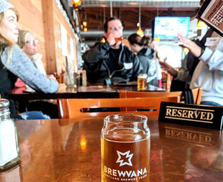 Brewvana Tour Hopworks Urban Brewery Portland Oregon