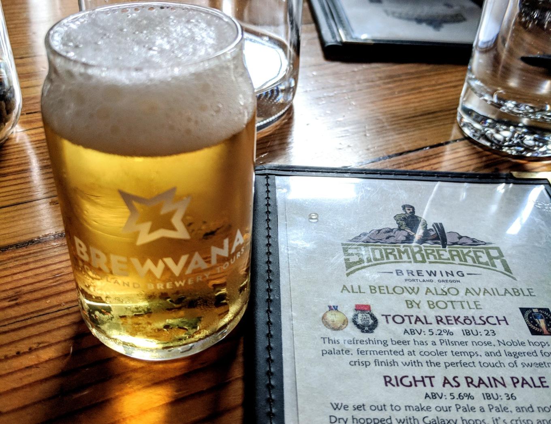 BREWVANA Tour Stormbreaker Brewing Portland Tourism