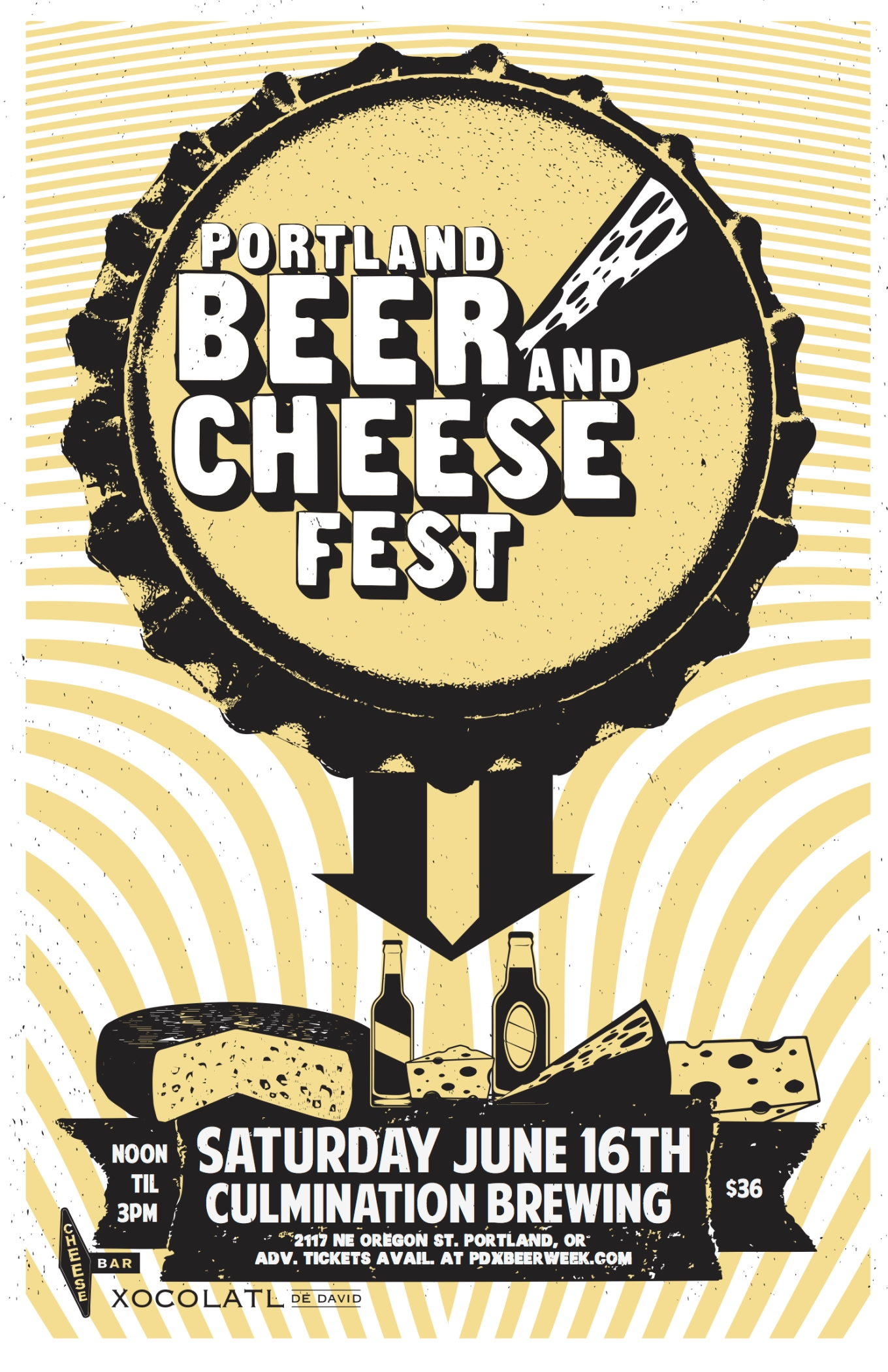 PDX Beer Week Beer and Cheese Festival 2018