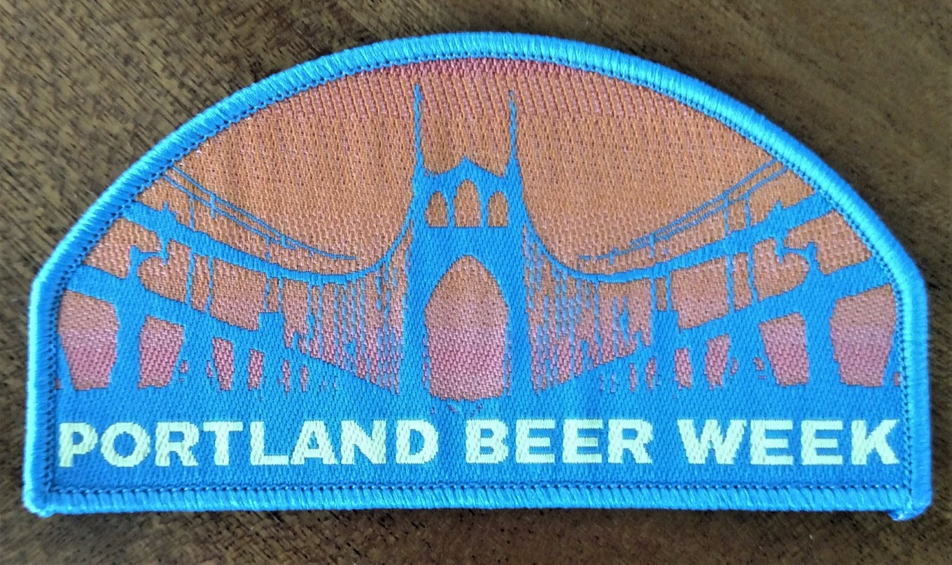 Portland Beer Week Patch