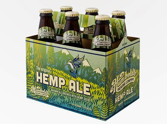 Humboldt Brewing Hemp Ale