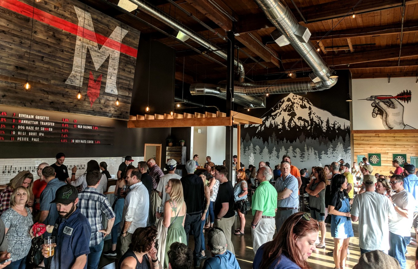 Migration Brewing Gresham Oregon Soft Opening