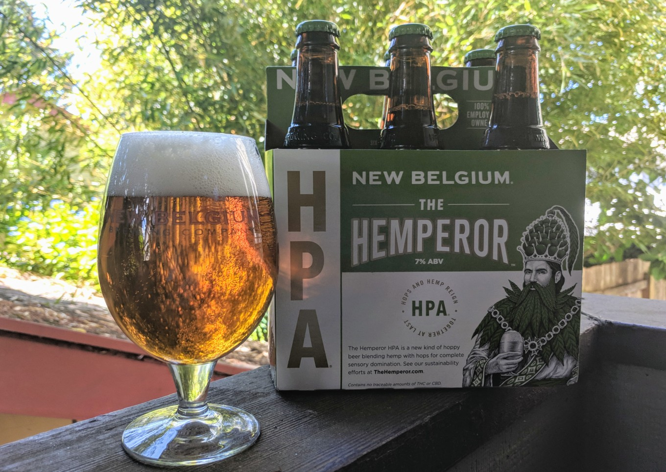 New Belgium The Hemperor HPA CBD Craft Beer