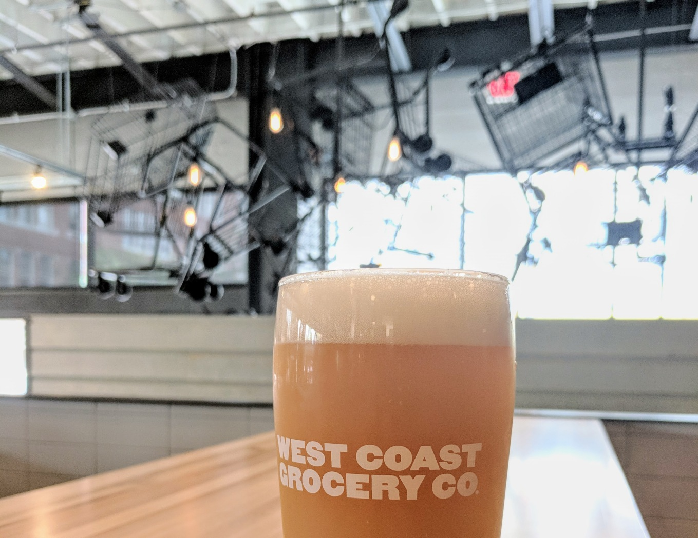 West Coast Grocery Co Shopping Carts Hazy IPA Fuzzy Balls