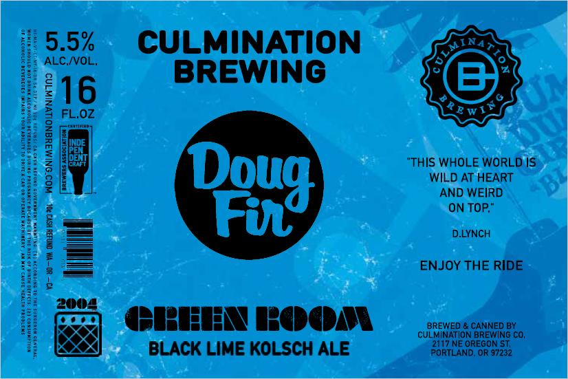 Culmination Doug Fir Green Room Blue Label