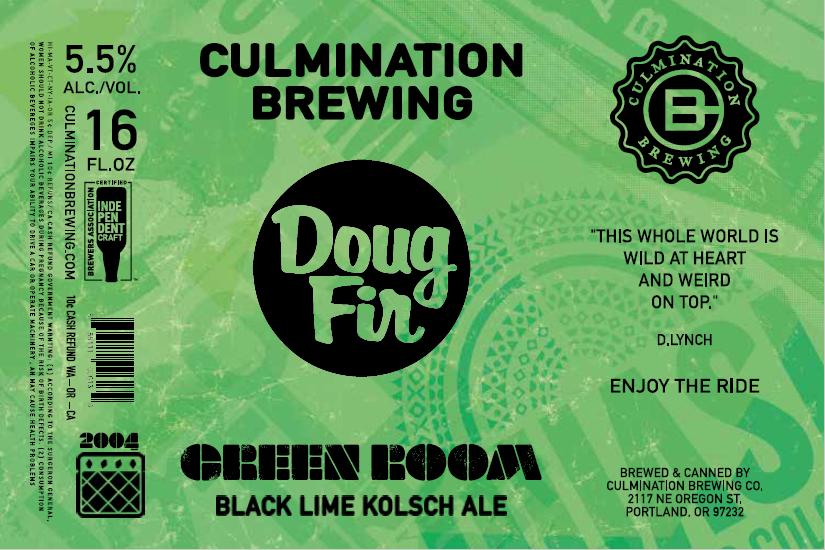 Culmination Doug Fir Green Room Green Label
