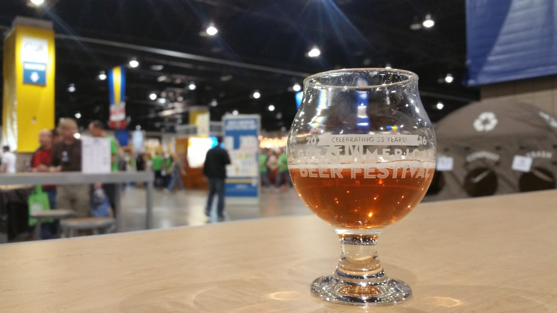 GABF 2016 taster glass