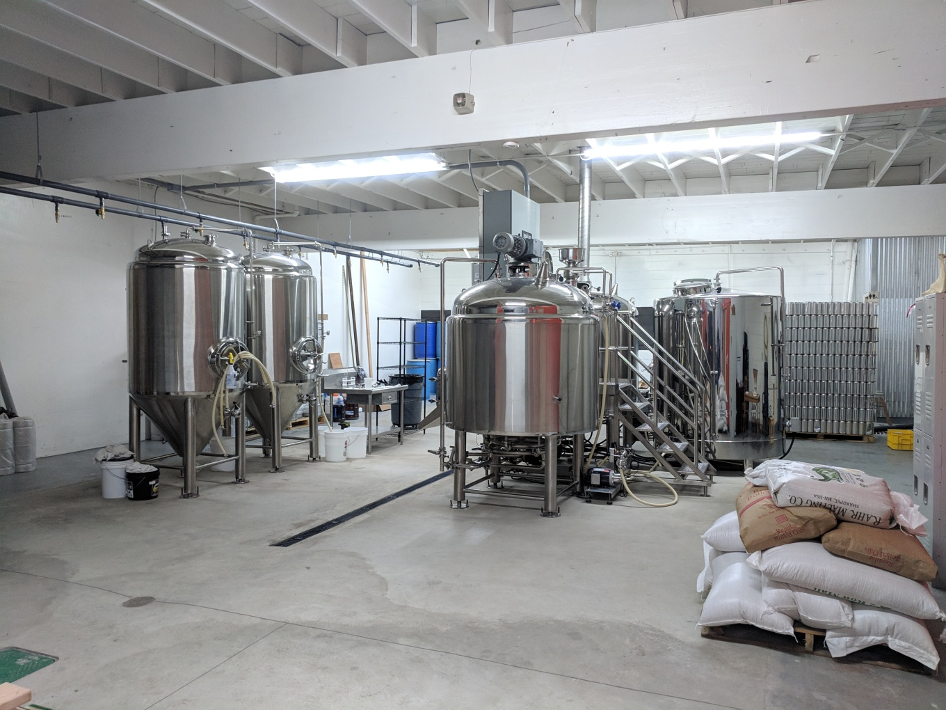 operation 10 barrel brewhouse threshold brewing and blending