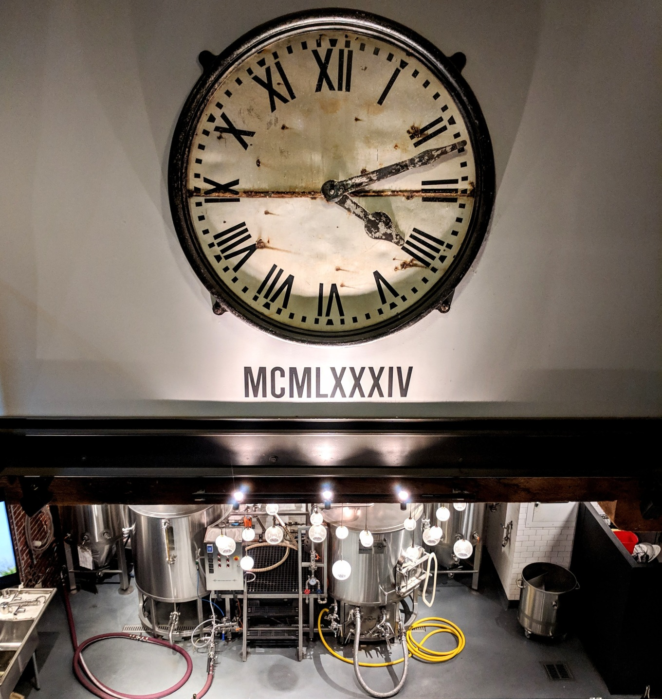 BridgePort Brewing Clock Portland Oregon