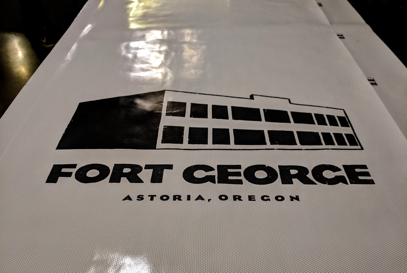 Function PDX Fort George Logo B+W