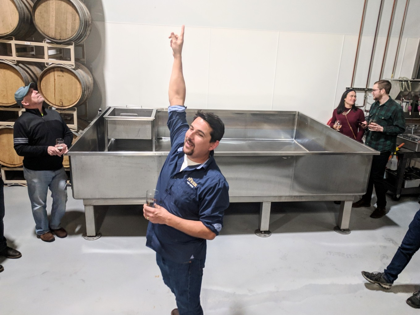 Gavin Lord Head Brewer pFriem Coolship Hood River Oregon