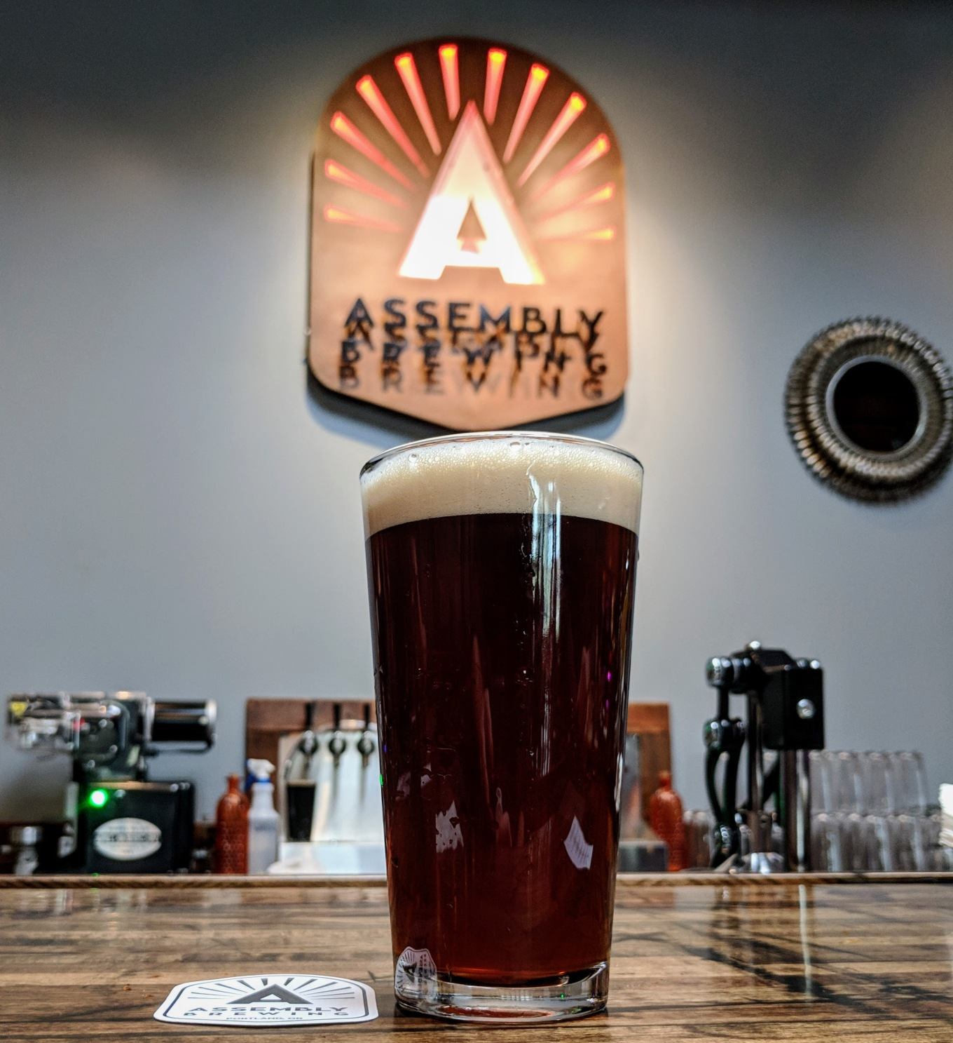 Assembly Brewing Amber Ale Portland Oregon