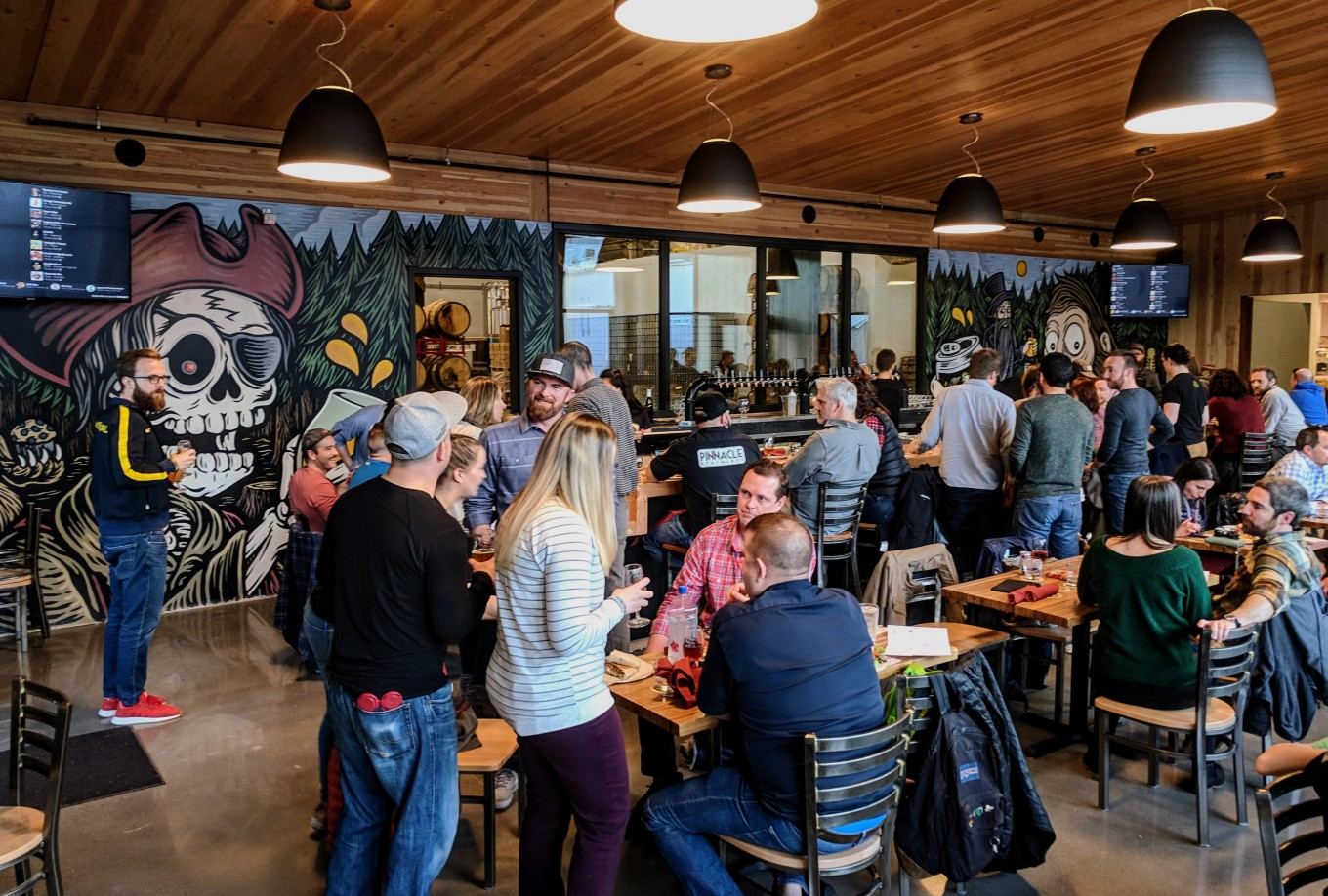 Restaurant Taproom Great Notion NW Portland Oregon
