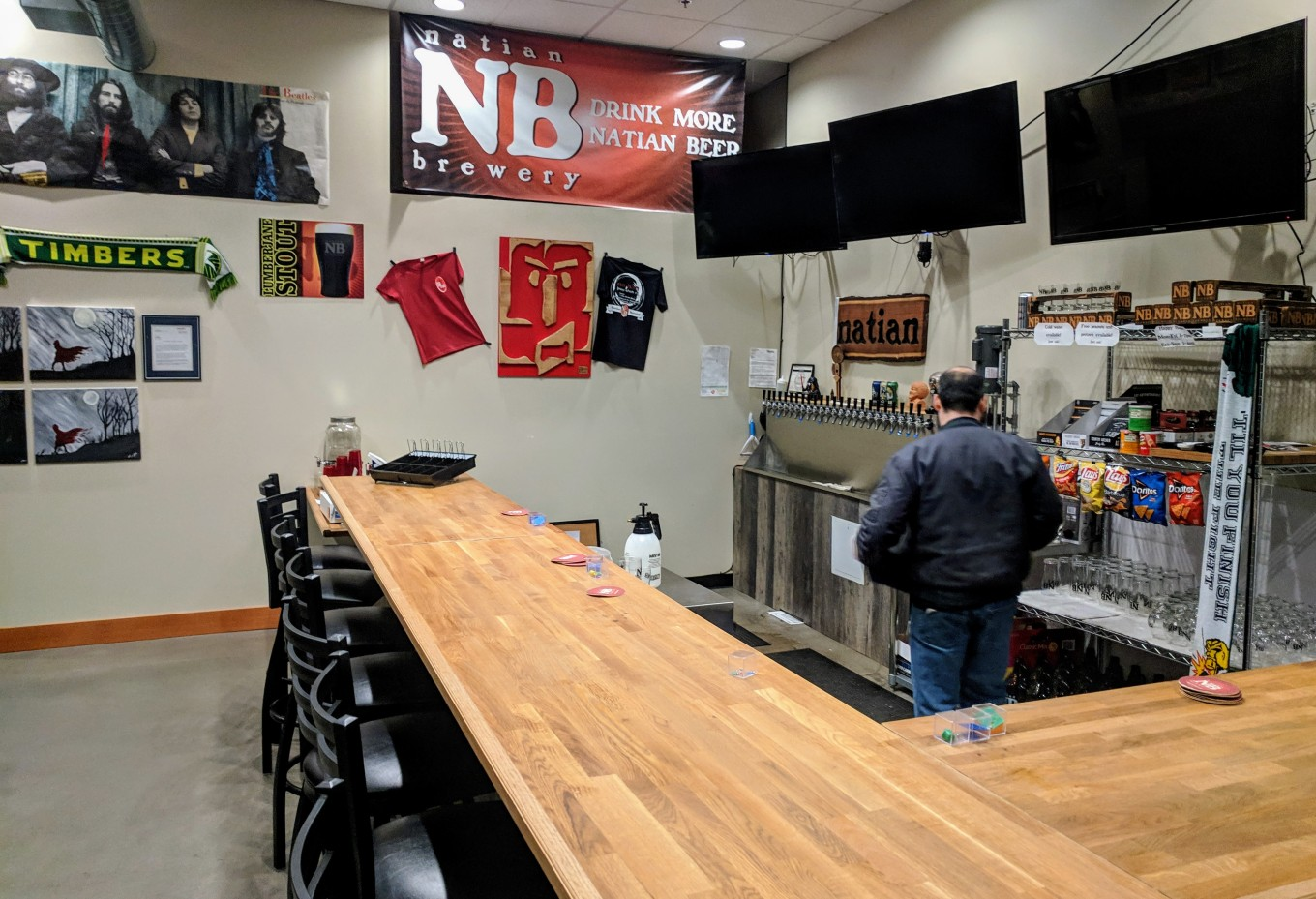 Natian Brewery Taproom Portland Oregon