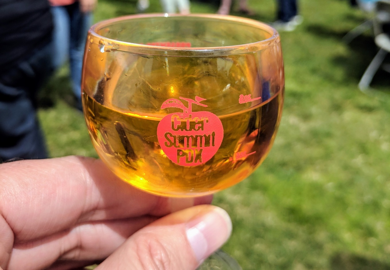 Cider Summit 2018 Taster Glass The Fields Park Portland Oregon Cider Week