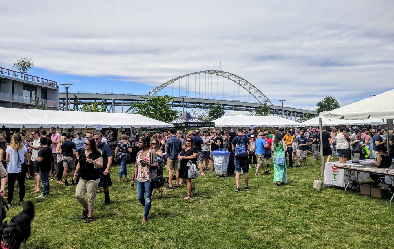 Cider Summit 2018 The Fields Park Portland Oregon Cider Week