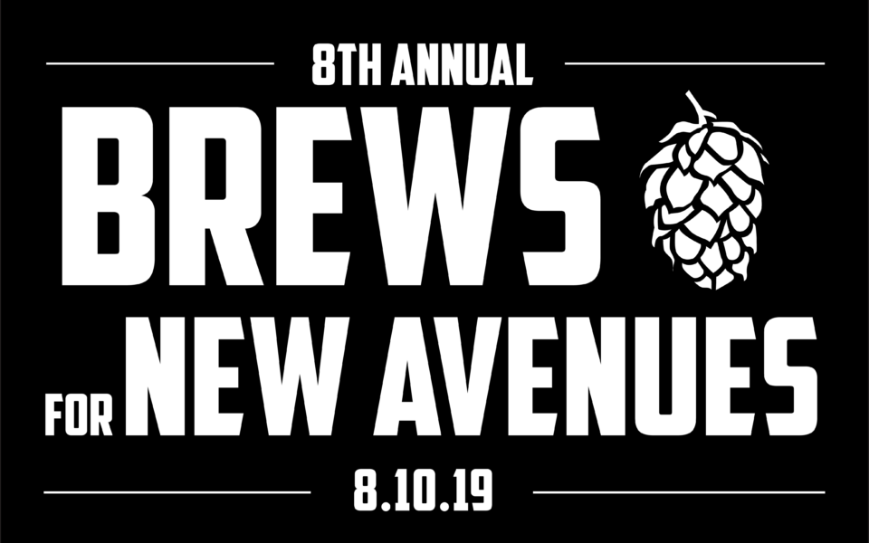 Brews For New Avenues 2019 Logo Black 960x600