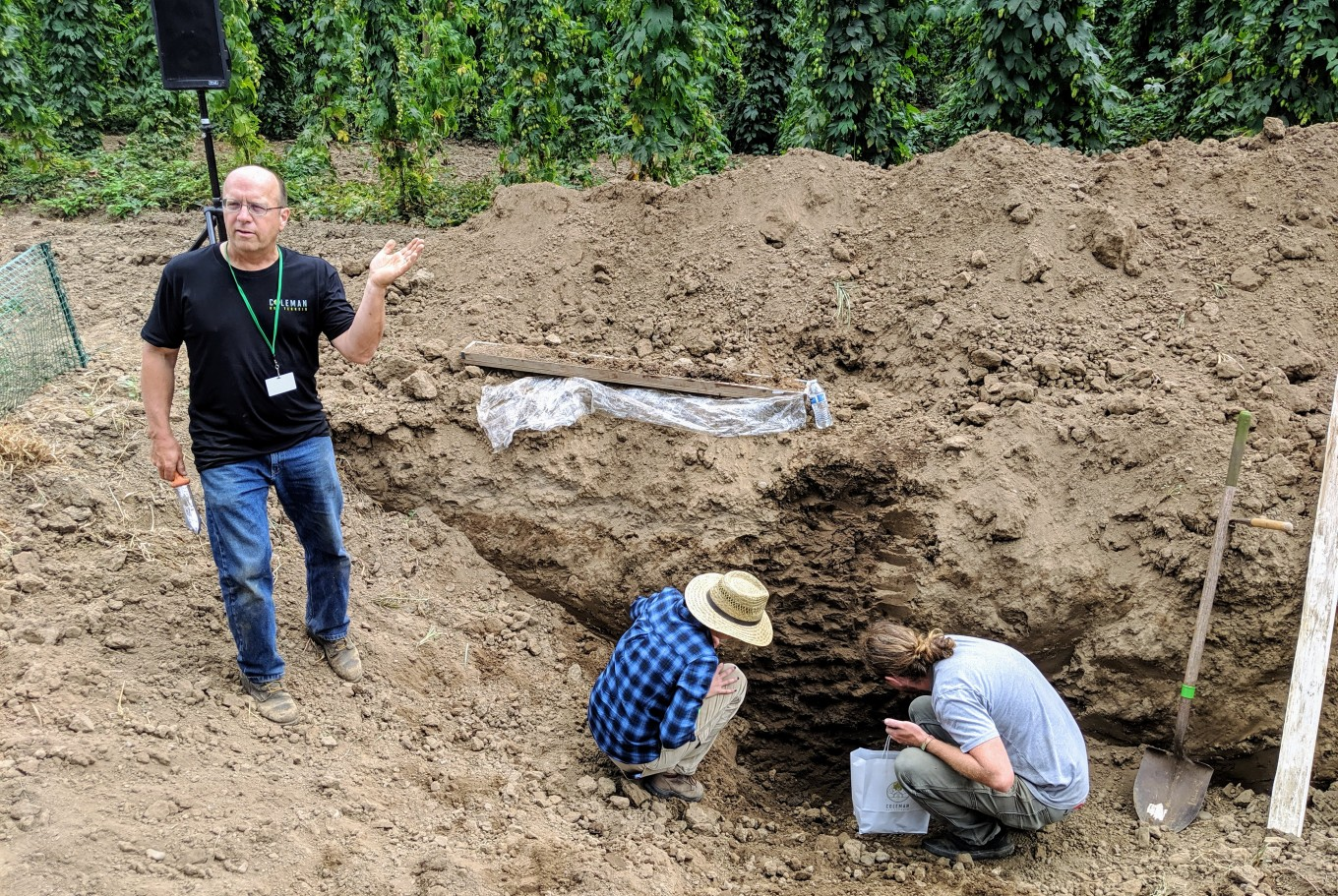 Andy Gallagher Red Hill Soils Coleman Hop Terroir