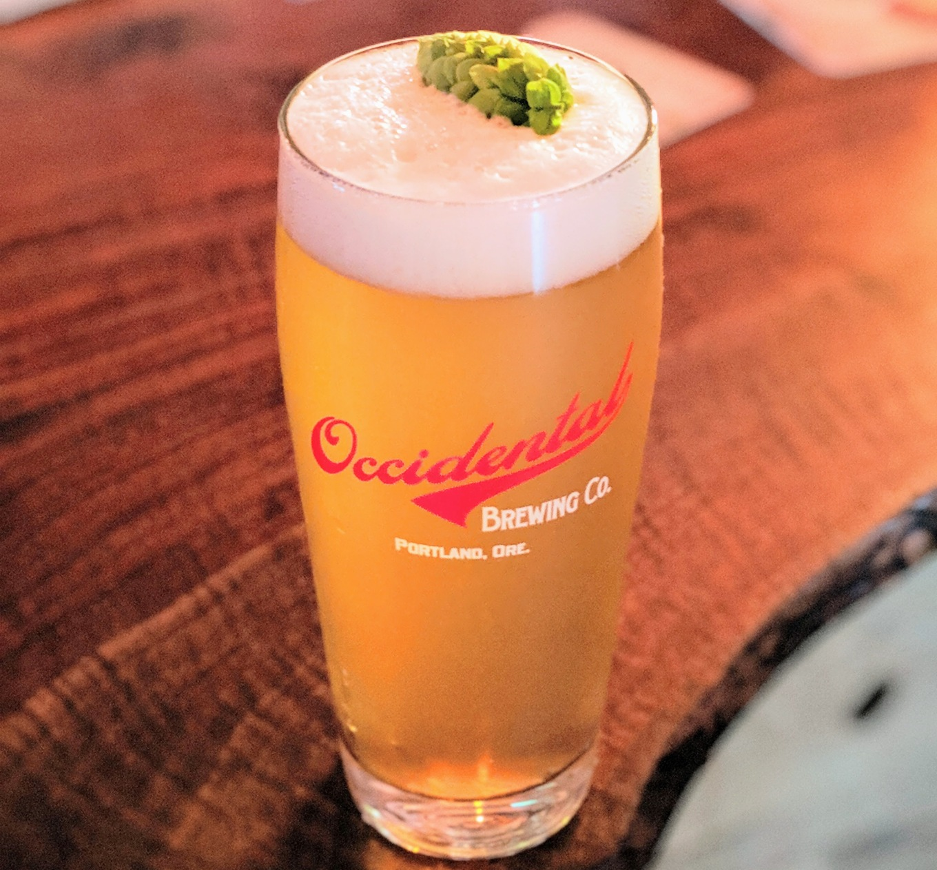 Occidental Fresh Hop Pilsner Lombard House 2019