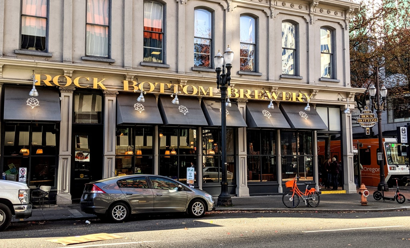Rock Bottom Brewery - Closed - Portland - Oct 29th 2019