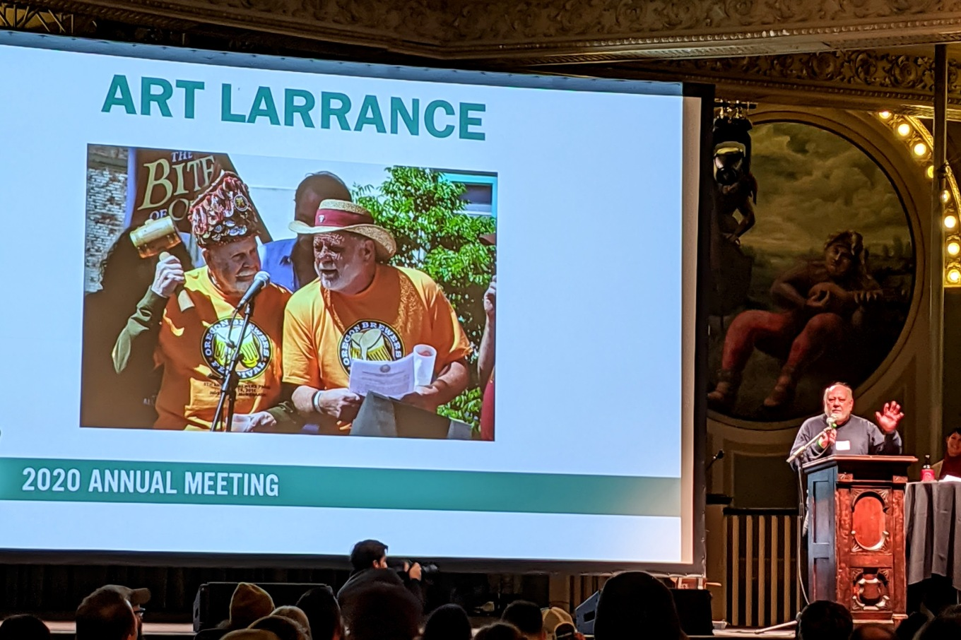 Art Larrance Retires - Oregon Brewers Guild Annual Meeting 2020