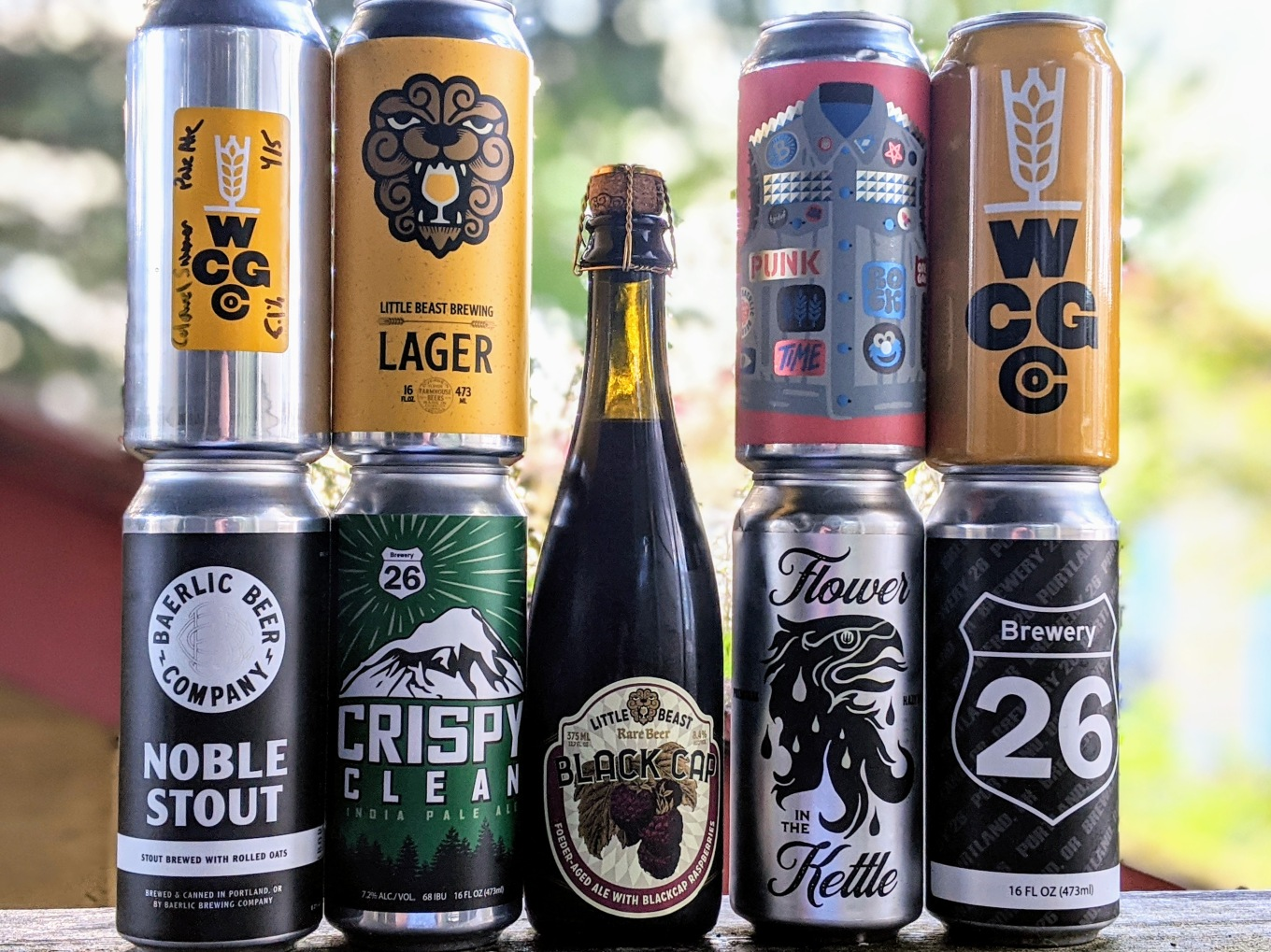 New Delivery Pickup Beers - Baerlic Brewery26 Little Beast Wayfinder West Coast Grocery
